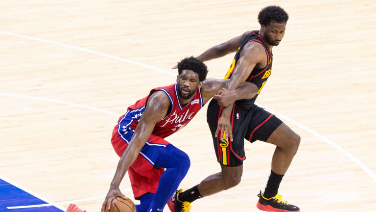 Joel Embiid Offers Update on His Knee Following Loss to Hawks