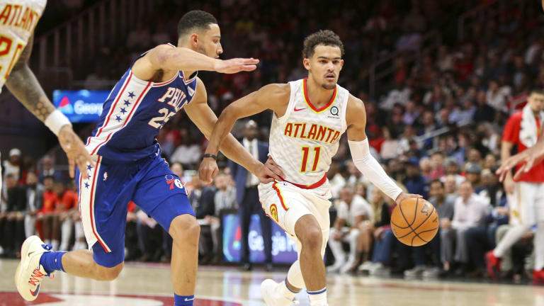 Simmons Hopes to be More Physical on Trae Young in Game 2
