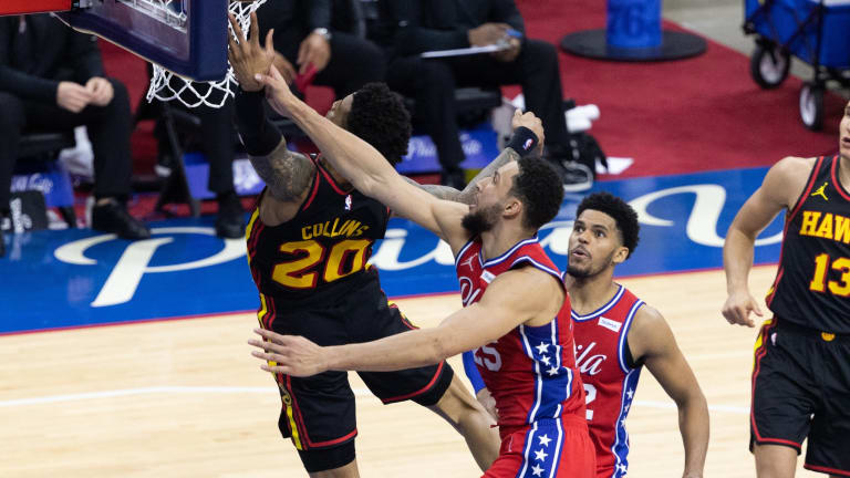Hawks Anticipate More Intense Matchup vs. Sixers in Game 2