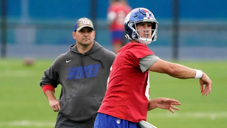 """""""You Can Only Tolerate That for So Long"""" NFL Analyst Brian Baldinger Talks Daniel Jones and Giants"""