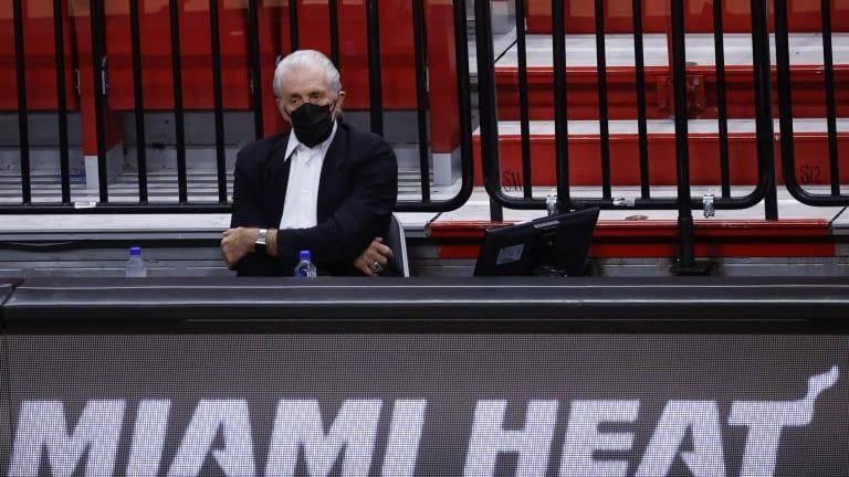 Pat Riley Appears in No Rush to Leave Perch Atop Miami Heat Organization