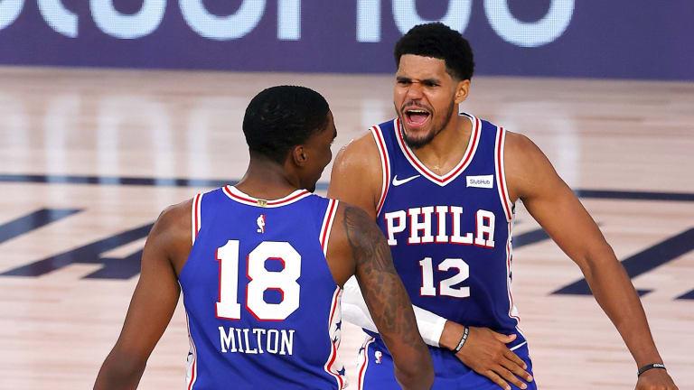 Harris Happy to See Shake Milton Overcome Playoff Struggles