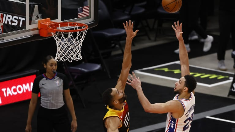 Rudy Gobert Tops Ben Simmons for Defensive Player of the Year