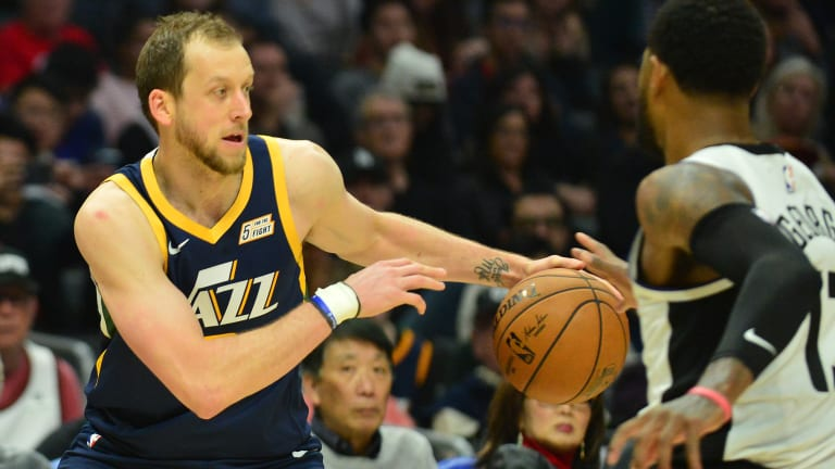 Joe Ingles Says Beef with Paul George is 'a Bit Old in My Mind'