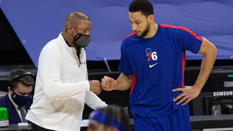 Sixers Coach Doc Rivers Isn't Sweating Ben Simmons' DPOY 'Snub'