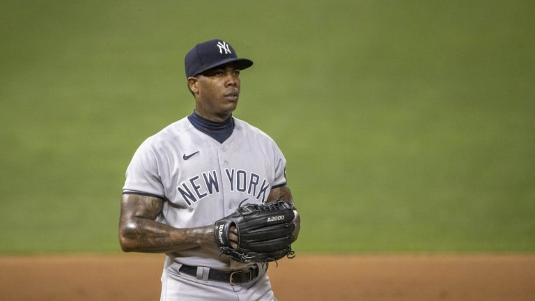 Chapman's Collapse Keeps Yankees From Sweeping Twins