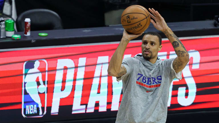 George Hill Reveals Rivers 'Ripped' Sixers' Bench Unit Amid Struggles in Game 2