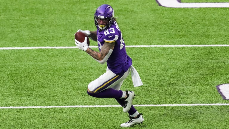 Why Tyler Conklin Will Be the 1B to Irv Smith Jr.'s 1A at Tight End for the Vikings