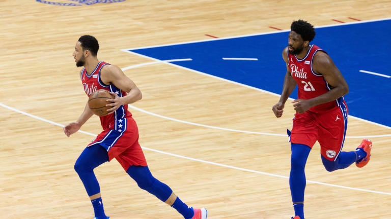 Embiid Reveals Message to Ben Simmons at Halftime of Game 3