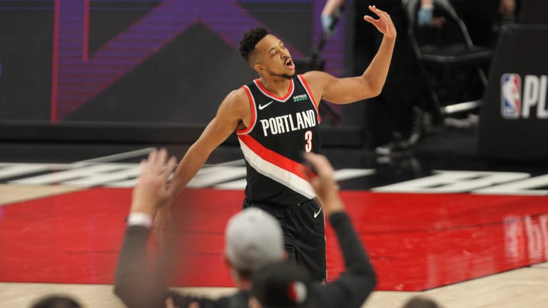 C.J. McCollum on Trade Rumors: 'I Signed Up for This Life'