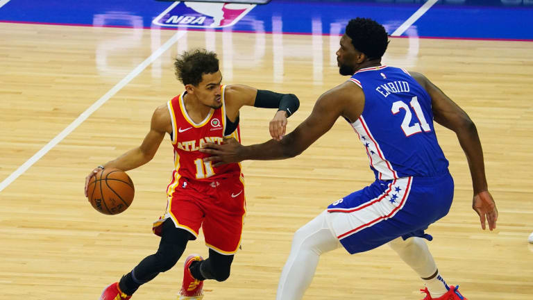 Joel Embiid Praises Trae Young for his 'Basketball IQ'