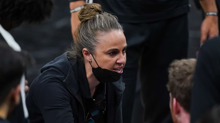 Report: Becky Hammon Among Five 'Initial Candidates' for Blazers Job