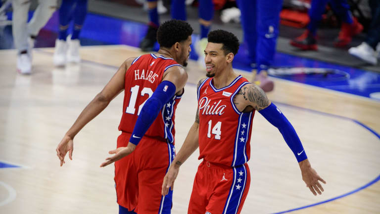 Sixers' Danny Green Assures Everybody He'll Be Back Soon