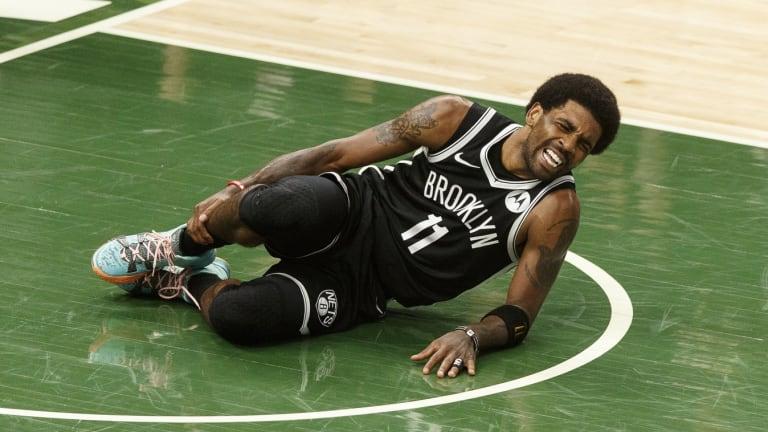 NBA Playoffs: Nets' Kyrie Irving Suffers Ankle Injury vs. Bucks