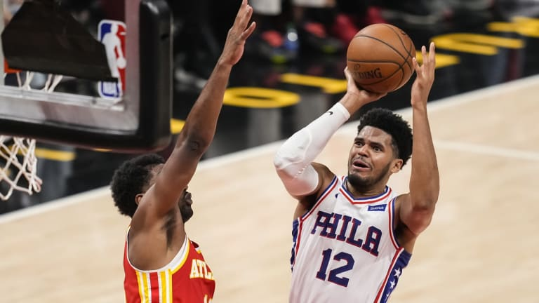 Harris is Frustrated With Hawks Fans' Reaction to Embiid Getting Hurt