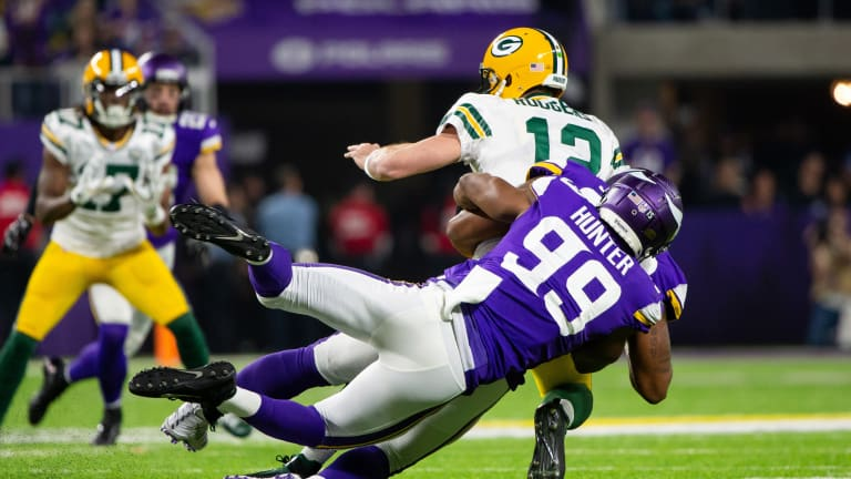 Report: Vikings, Danielle Hunter Agree to Reworked Deal For 2021 Season