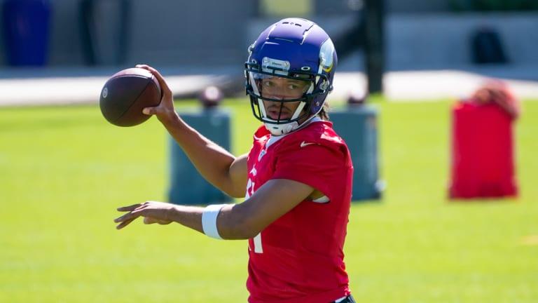 Vikings Quarterback Kellen Mond Signs Rookie Contract