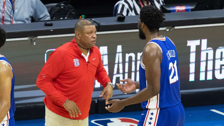 Doc Rivers Doesn't Regret Relying on Struggling Joel Embiid in Game 4