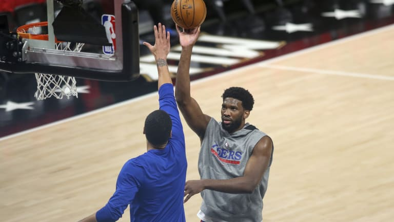 Sixers' Joel Embiid Doubts He'll be '100-Percent' at all in NBA Playoffs