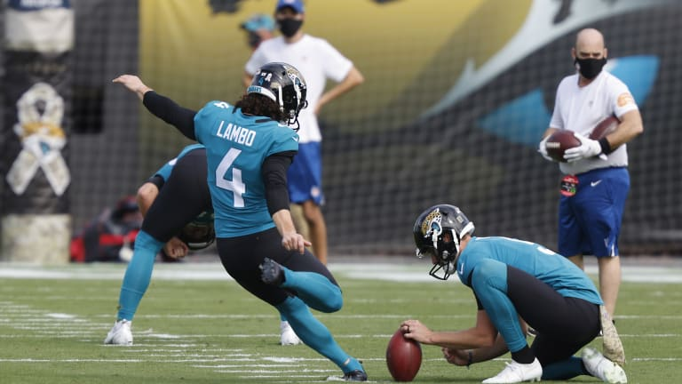 Nick Sorensen, Jaguars Still Evaluating Kicker Position: 'That Competition Will Continue'