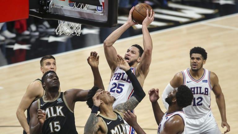 Sixers' Ben Simmons Admits He Should've Been More Aggressive in Game 4 vs. Hawks