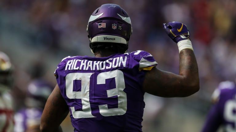 Vikings Officially Sign Sheldon Richardson, Waive P Zach Von Rosenberg