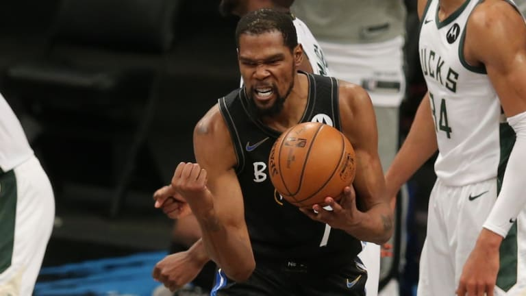 76ers Playoff Watch: Durant Helps Nets Grind Out Game 5 Win Over Bucks