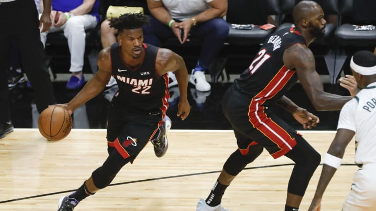 Miami Heat's Jimmy Butler Named Third-Team All-NBA