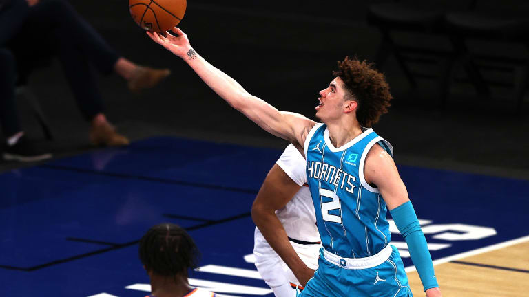Source: Charlotte Hornets' LaMelo Ball named NBA's rookie of the year