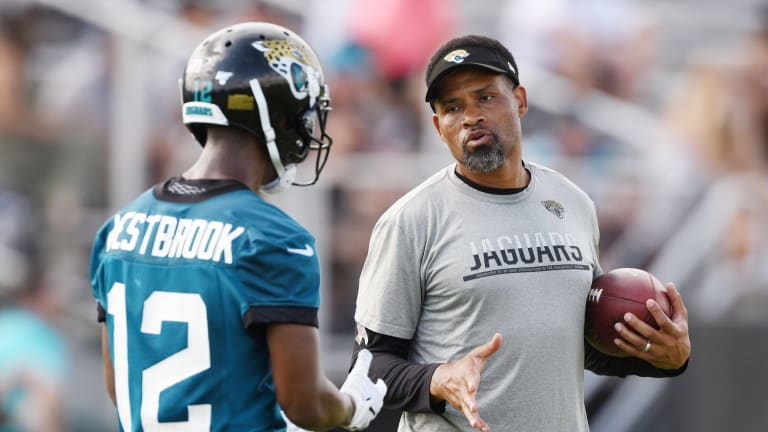 Jimmy Smith Claims Former WR Coach Keenan McCardell 'Was Not Allowed To Coach Like He Wanted To'