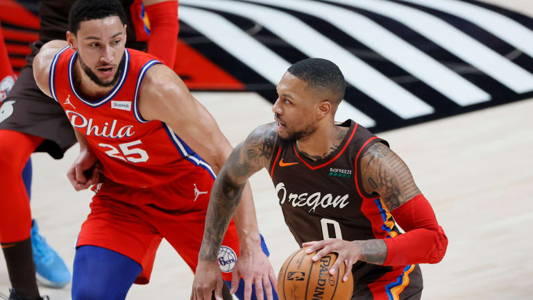 Could Damian Lillard Help Bring Out the Best of Ben Simmons?