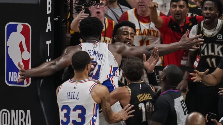 Embiid Explains Altercation With John Collins in Game 6