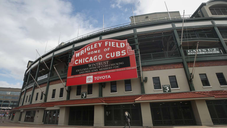 Rangers History Today: First Visit To Wrigley Field