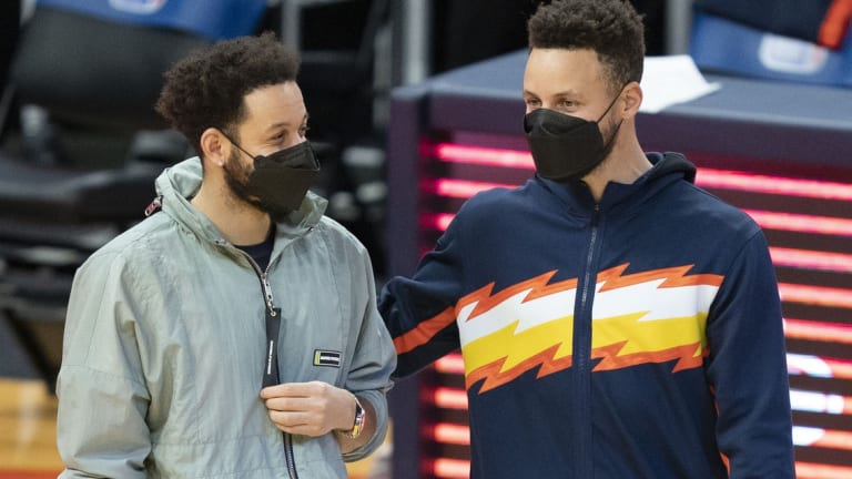 Steph Curry Speechless At Seth's Performance in Game 6