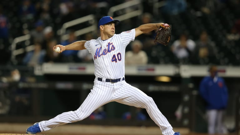Blue Jays Acquire Reliever Jacob Barnes From Mets