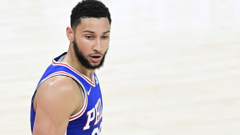 Report: Ben Simmons Doubtful to Play in 2021 Olympics