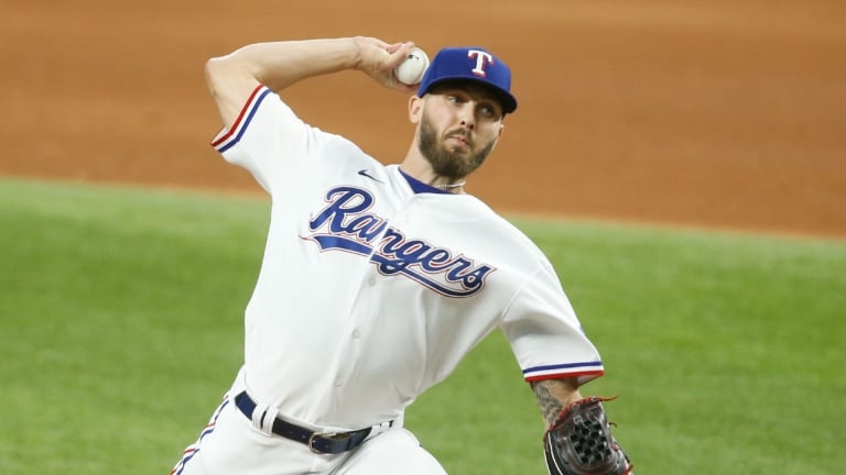 Rangers Fall To A's 5-1, Split Four-Game Series