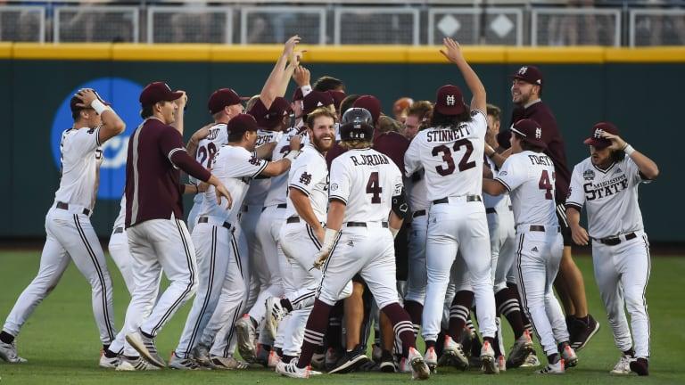 Mississippi State walks off Texas, advances to College World Series Finals vs. Vanderbilt