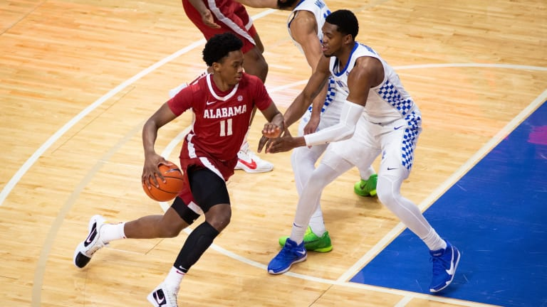 Alabama's Josh Primo on Sixers' Radar at NBA Draft Combine