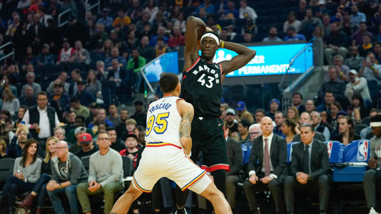 Report: Pascal Siakam a 'Name to Watch' in Warriors Trade Talks