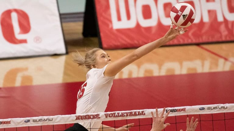 Stivrins Returning for Husker Volleyball
