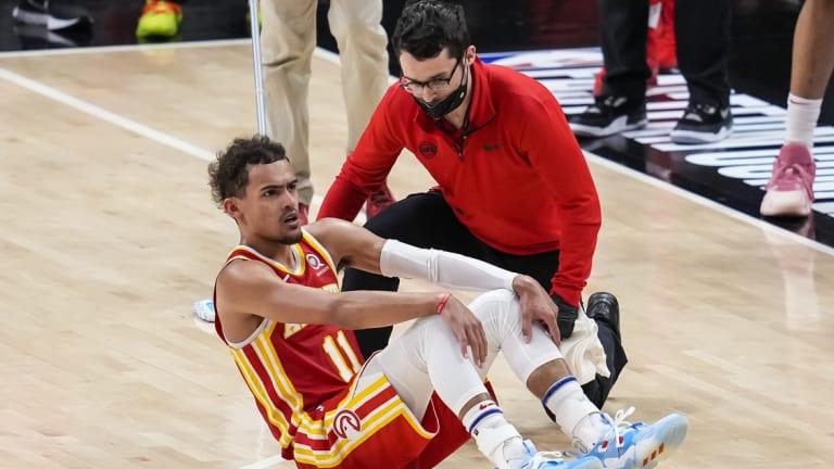 NBA News: Hawks' Trae Young to Miss Game 4 vs. Bucks