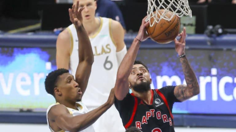 Report: Raptors Jalen Harris Dismissed from NBA for Violating Drug Policy