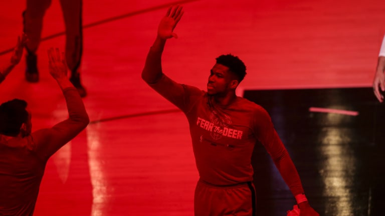ESPN's Kendrick Perkins Lists His Top-Five Power Forwards In The NBA With MilwaukeeBucks' Giannis Antetokounmpo Number One