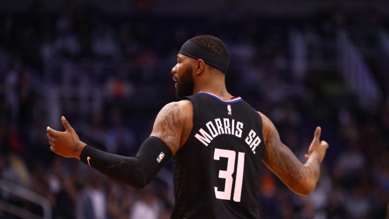 LA Clipper Marcus Morris Sr. Thinks NBA 2K is 'Trash'