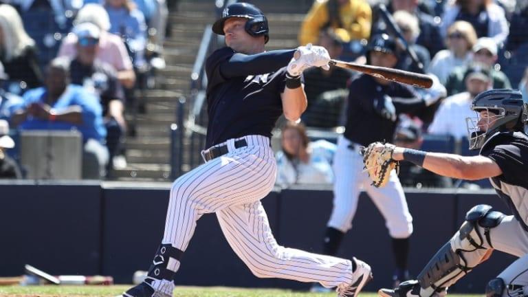 Yankees Finally Call Up Outfielder Trey Amburgey