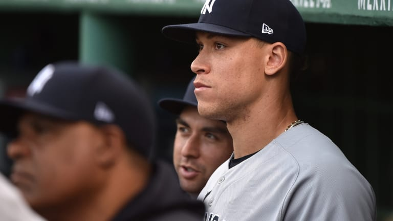 Aaron Judge Among Six Yankees to Test Positive For COVID-19