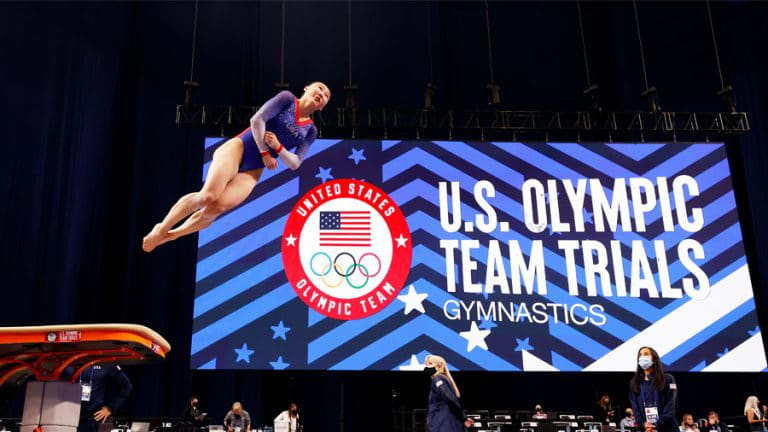 REPORT: Future Utah Gymnast Tests Positive For COVID-19 At Olympics