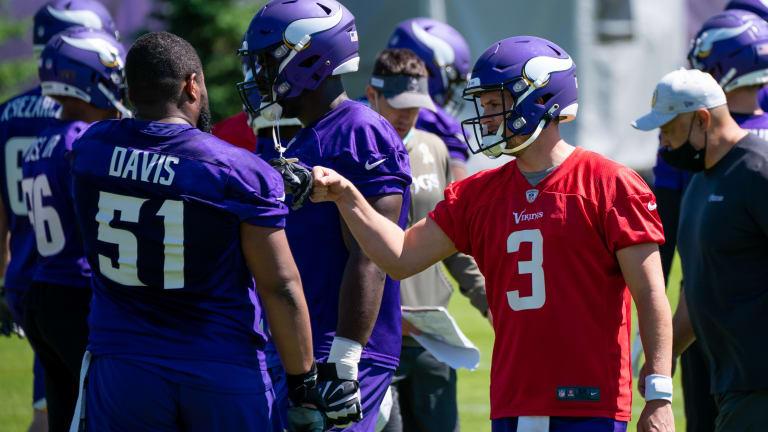 Breaking Down the Minnesota Vikings' 2021 Training Camp Position Battles on Offense