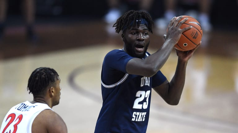 Utah State's Neemias Queta Worked Out for Sixers Ahead of NBA Draft